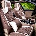 Мода подушка сиденья автомобиля включает четыре сезона вообще автомобильные аксессуары для hyundai для i30 бежевый коричневый кофе желтый серый