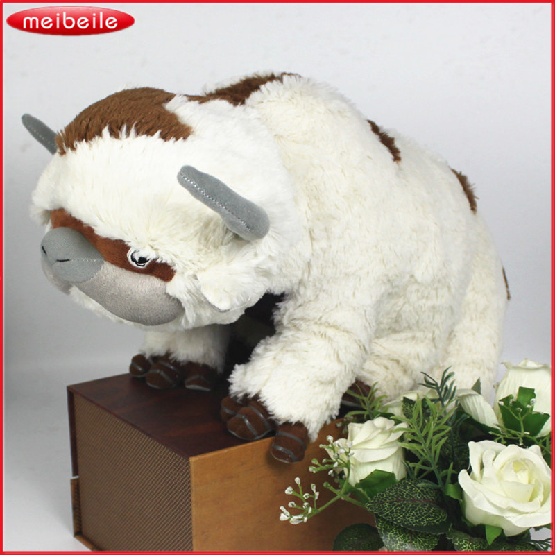 50CM The Last Airbender Resource Appa Avatar Stuffed Animals Plush Doll Cow OX Toy Gift Kawaii Plush Toys Unicorn Pillow Cattle managing a scarce resource
