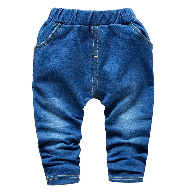 2016 Herbst Neue Mode Hohe Qualität Baumwolle Kinder Jeans 2-5 Jahre Kinder Hosen Für Jungen Hosen