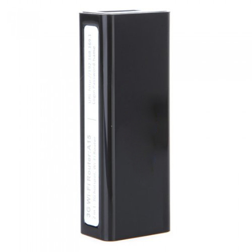Hot 2 in 1 A15 Mini Smallest Wireless Router 3G/Wi-Fi IEEE802.11b