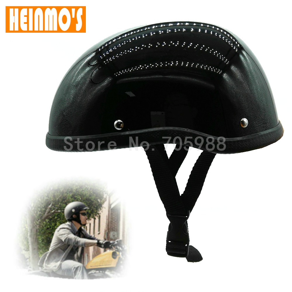 Retro Motocross Motorcycle Unisex Racing Helmet Moto Off Road Half Helmet Matt Black Capacete Casque Moto For Harley Dirt Bike