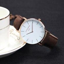 CHRONOS Brand Fashion Women Stainless Steel Bracelet Wristwatches Ladies Dress Watches Clock Casual Quartz Watch Montre Femme