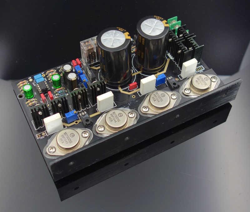 على 15024 15025 LME40860 كامل تيار مستمر Op أمبير فئة مكبر كهربائي ورقة الذهب مختومة أنبوب إخراج عدة مكبر الصوت