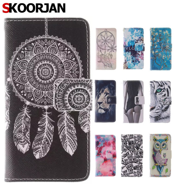 Case for Sony Xperia Z3 Mini Coque Tiger Sexy Girl Painting Stand Wallet Flip Leather Phone Cases Cover for Sony D5803 M55W Capa