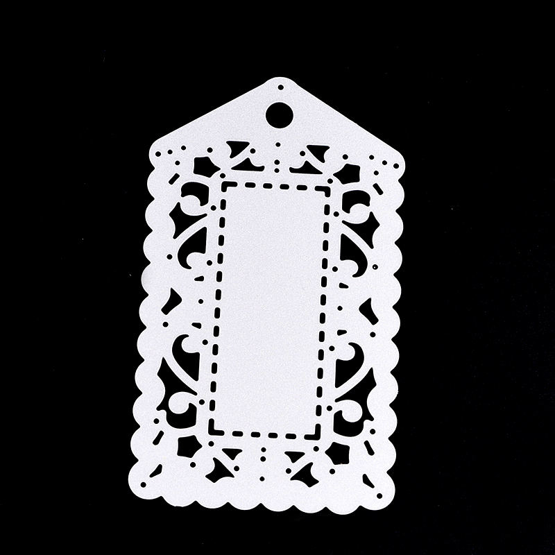 Luggage Tag Shaped Metal Cutting Dies Snijmal En Embossing Scrapbooking Dies Metal Diy Craft Dies Cutting Stencil Templates #518