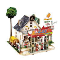 DIY Wooden House Handiwork Artware Ornaments Decor Craft DIY Furniture Handcraft Miniature Box Creative Gift 3D