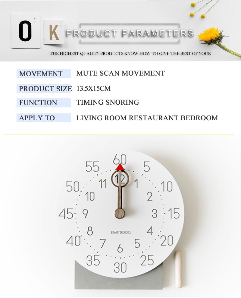retro clock with time projection clock vintage reloj mesa vintage reloj antiguo automobile clock alarm clock bedroom clock clock flip watch table table clock (2)