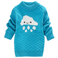 2017 new fashion autumn and winter baby girl sweater boys and girls pattern pullover sweater kids clothes