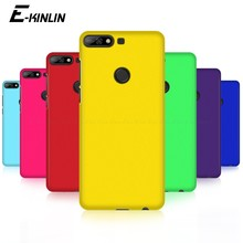 Luxury Hard PC Matte Phone Case Ultra Thin Slim Plastic Back Cover For HuaWei Y3 Y5 Y6 Y7 Lite Prime Pro Y9 2019 2018 2017(China)