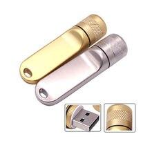 Microfone de metal Pendrive USB flash de alta velocidade pen drive GB 8 4 GB GB 32 16 GB 64 GB flash memoria usb stick unidade presente criativo