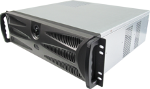 Industrial Computer case 3U380mm usb plastic lock panel monitor font b Server b font Chassis