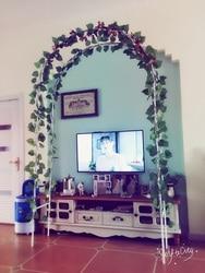 قوس معدني لتزيين الزفاف. ارتفاع أبيض 240 سنتيمتر ، أقواس زهور. لوازم الحديقة ،