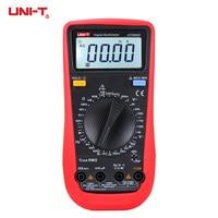 UNI T UT890D True RMS Digital Multimeter DMM Handheld Electrical Test Tester Capacitance DC AC Voltage Ammeter hFE LED Diode