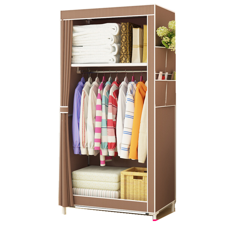 цена YYFIRE Non-Woven DIY Simple Wardrobe Closet Finishing Clothes Collection OF Toys Finishing Quilt