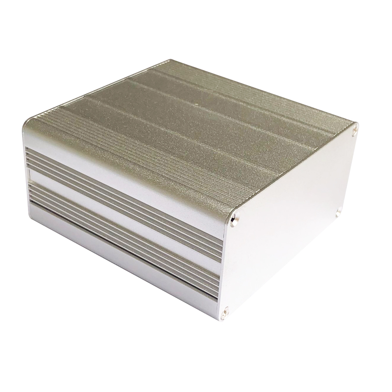 Extruded Aluminum Enclosure Durable Electronic Project Case DIY Electronic Project PCB Instrument Box 100x100x50mm