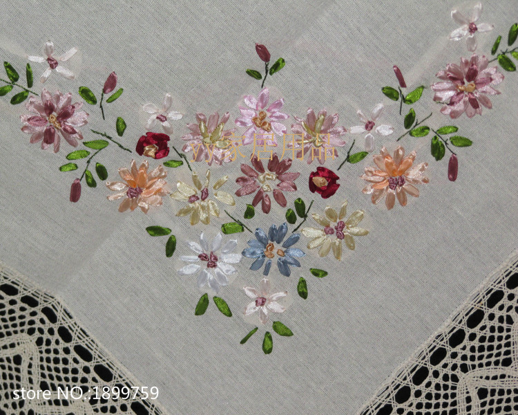 The new hot sale square cm ribbon embroidery