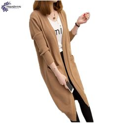 Tnlnzhyn spring women clothing sweater cardigan new loose large size v neck long sleeves casual long.jpg 250x250
