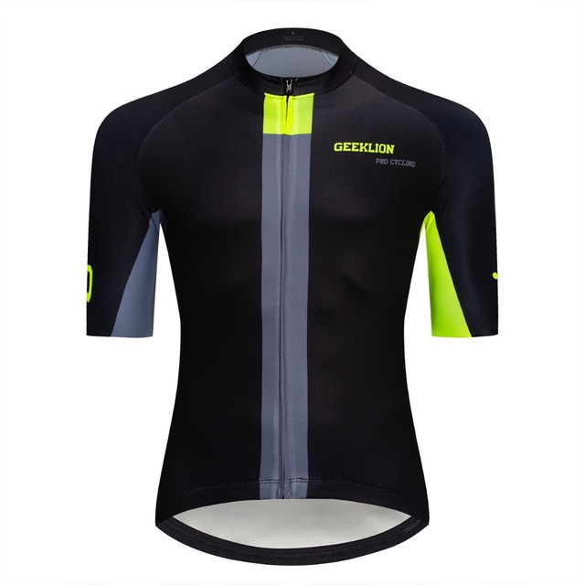 Geeklion Cool-Plus Team Cycling Jersey PRO Fit Ciclismo Clothing Summer Bike  Wear Ropa Racing Road Bike Shirt 3d2e1ef25