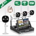 """ANRAN Беспроводной Wi-Fi Видеонаблюдения NVR Комплект 7 """"ЖК-Экран CCTV HD 720 P Открытый Водонепроницаемый Камеры Системы Безопасности 1 ТБ HDD"""