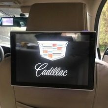 Car Headrest Video Player Android TV In The DVD Monitor For Cadillac Rear Seat Entertainment System 11.8 inch Screen