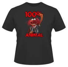 Mens Funny T-Shirt, Muppets 100% Animal, Ideal Gift or Birthday Present. New T Shirts Tops Tee Unisex