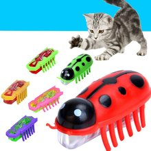 Electronic Toys Battery Powered Mini Mechanical Insect Nano Insects Interactive Traning Playing Toys for pets Supplies Tool