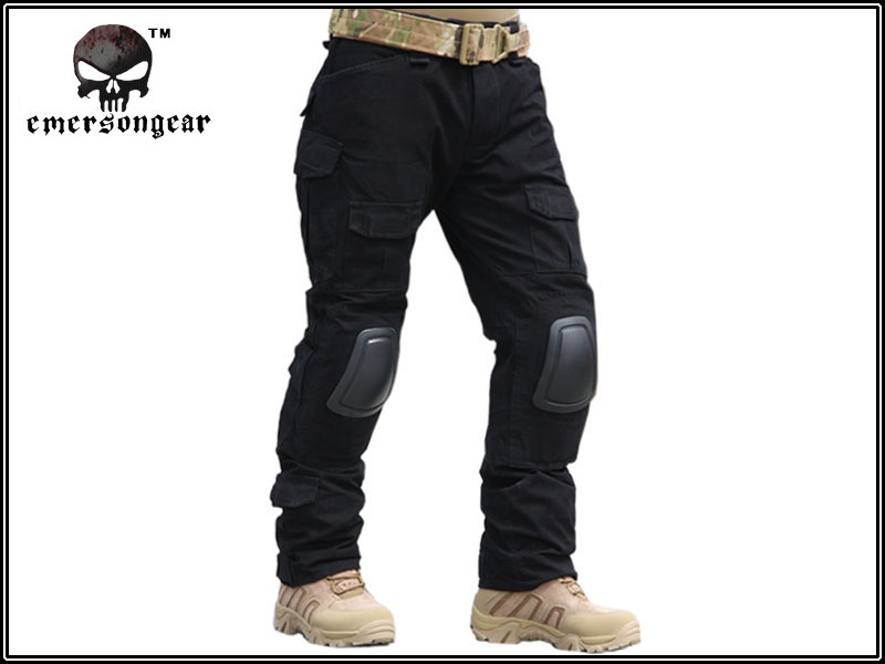 ФОТО EMERSON Men Military Airsoft Combat BDU Pants Tactical Gen2 Pants with Knee Pad Outdoor Sports Integrated Battle Trousers EM6988