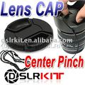 82mm Center Pinch Snap on Front Cap for Lens / Filters