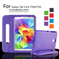 "For Samsung Tablet T700 Shock Proof Case for Samsung Galaxy Tab s 8.4"" T700 705 Children/Kids Shock Proof Silicone cover"