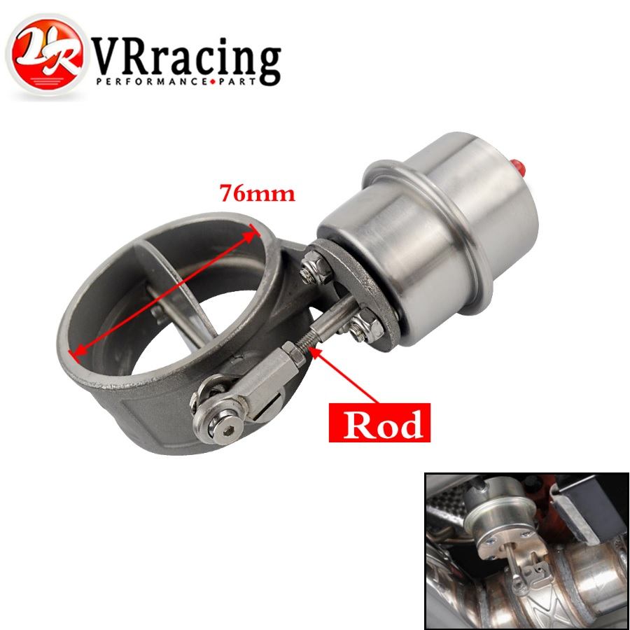 VR Exhaust Control Valve With Vacuum Actuator Cutout 3 76mm Pipe OPEN Style with ROD VR ECV04 RP