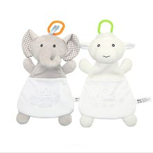 Soothing Cartoon Towel Babies Boy Girl Cotton Toys Candy Storage Bag Baby Infant Soft Hand Towels