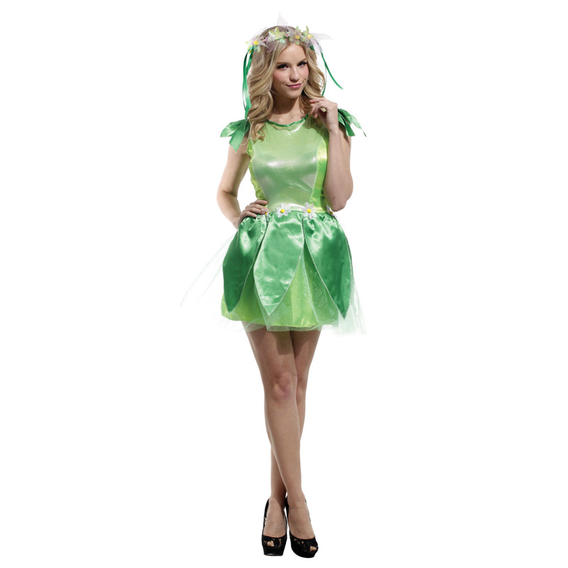 Umorden Purim Carnival Party Halloween Costumes Lady Woman Woodland Green Fairy Elf Costume Women Tinkerbell Princess Dress-in Holidays Costumes from ...  sc 1 st  AliExpress.com & Umorden Purim Carnival Party Halloween Costumes Lady Woman Woodland ...