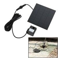 180L/H Fırçasız Güneş Enerjisi Pompa Çeşme Spryer Su Pompası 7 V Yüzme Havuzu Bahçe Balık Tankı Akvaryum Su tasarrufu Pompa