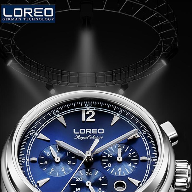 LOREO Vintage Women Automatic Self Wind Watch Lady  brand Auto Date Stainless Steel Band Business Mechanical Wristwatch J94 longbo brand new arrived luxury women watch stainless steel auto date business style lady watch date dames horloges reloj mujer