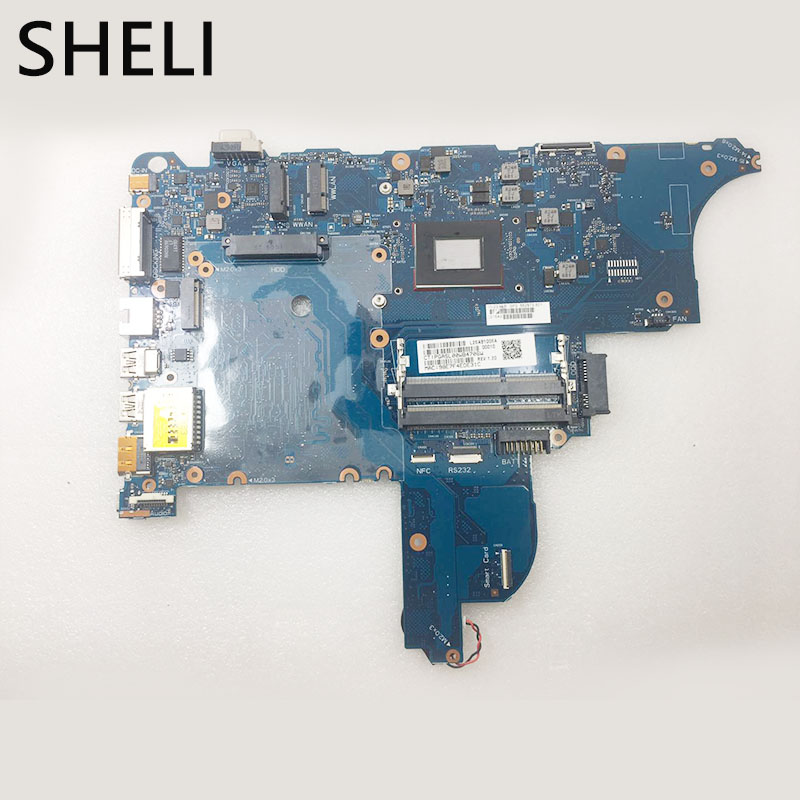 SHELI For HP  655 G2 M850B Laptop Motherboard 862873-601 6050A2723701-MB-A02 Notebook Pc Mainboard 100% TESTED Ok