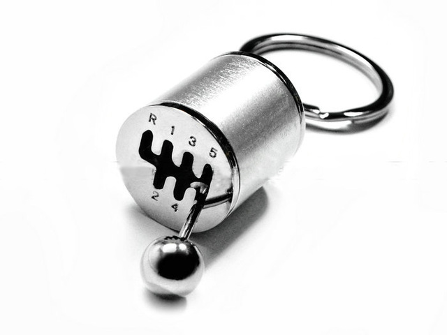 Cool Stick Shift keychain