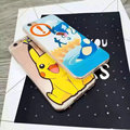 Pokemons Pikachus Pocket Monsters bonito Dos Desenhos Animados Caso TPU Macio Tampa Traseira para o iphone SE 5 5S & 6 6 S & 6 6 S Plus Estande Anel Titular