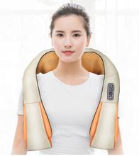 Home Car U Shape Electrical Shiatsu Back Neck Massager Shoulder Body Massager Infrared Heated Kneading Back Spa все цены
