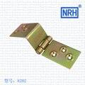 NRH8202color galvanizado Bisagra Correa GB caja de madera Bisagra Bisagra Correa Correa de acero laminado en frío de Alta calidad directo de fábrica de ventas