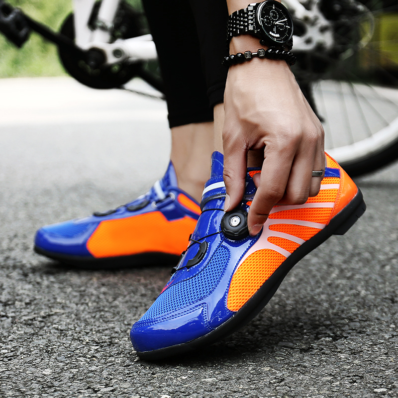 Lovers Professional Road Bike Shoes MTB Bicycle Shoes Self locking Breathable Cycling Shoes Ultralight Sport Bike