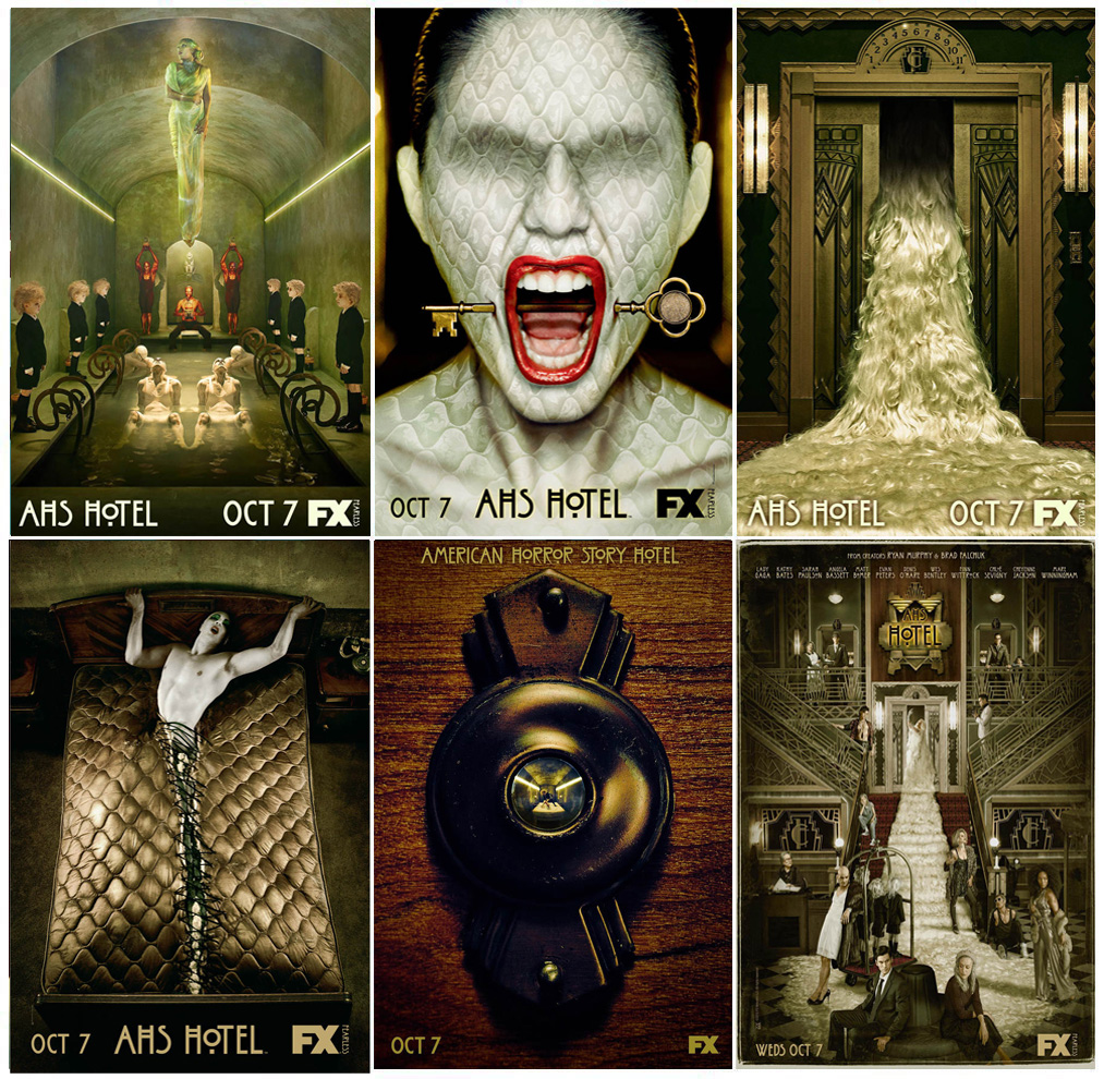 Tv Show Poster Friends American Drama Movie Vintage: MX025 American Horror Story Hot New Season 5 Classic TV