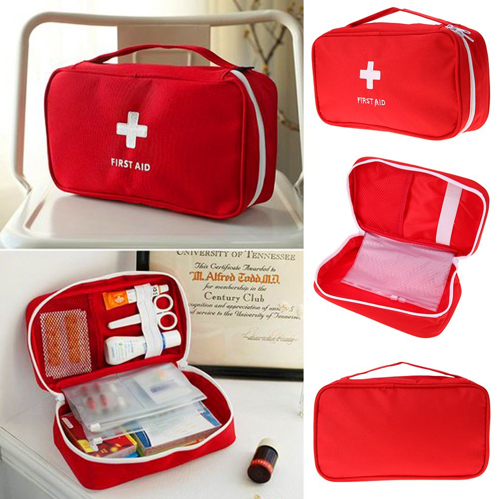 Travel Storage Bag Portable First Aid Emergency Medical Large Survival Bag Medicine Wrap Bags Outdoor Sport Camping Tool