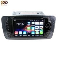 New 1080P 64-Bit CPU 2GB RAM Android 7.1 Car DVD GPS For VW Seat Ibiza 2009-2013 Auto Radio Multimedia Video Player