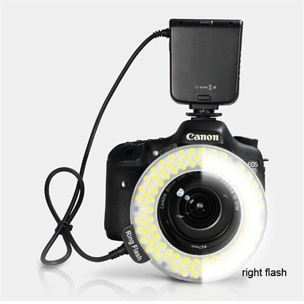 все цены на HC-122 Macro LED Ring Flash Light For Canon Digital EOS Rebel DSLR for 100D 700D 650D 1100D 600D 500D 550D 450D 1000D 400D 350D онлайн