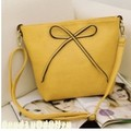 2015 Summer High Quality Fashion butterfly Bow PU cross-body 12 colors Women bowknot Messenger Bags one shoulder bags handbag