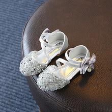 Hot Sale Fashion Kids Girls Sequin Bow Sandals Children Sandals Summer Girl Sweet Princess Sandals Shoes