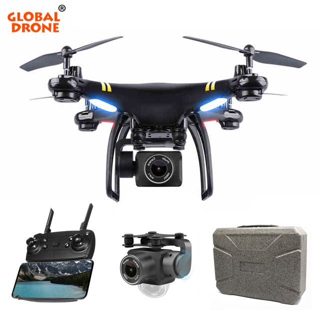 Global Drone GW168 GPS Drones with Camera HD WIFI FPV Dron Altitude Hold Follow Me RC Quadrocopter Camera Drone VS SYMA X8 CG033