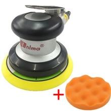 цена на Pneumatic Tool Polishing Machine 5 Inch Round Sander Sandpaper Random Orbital Grinder Industrial Grade