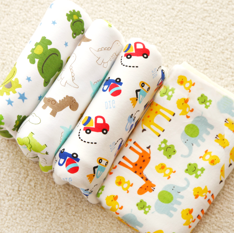 2017 New Arrival Multifunctional Soft Cotton Thin Swaddling Cloth Baby Blanket Baby Bath Towel Child Stroller Blankets