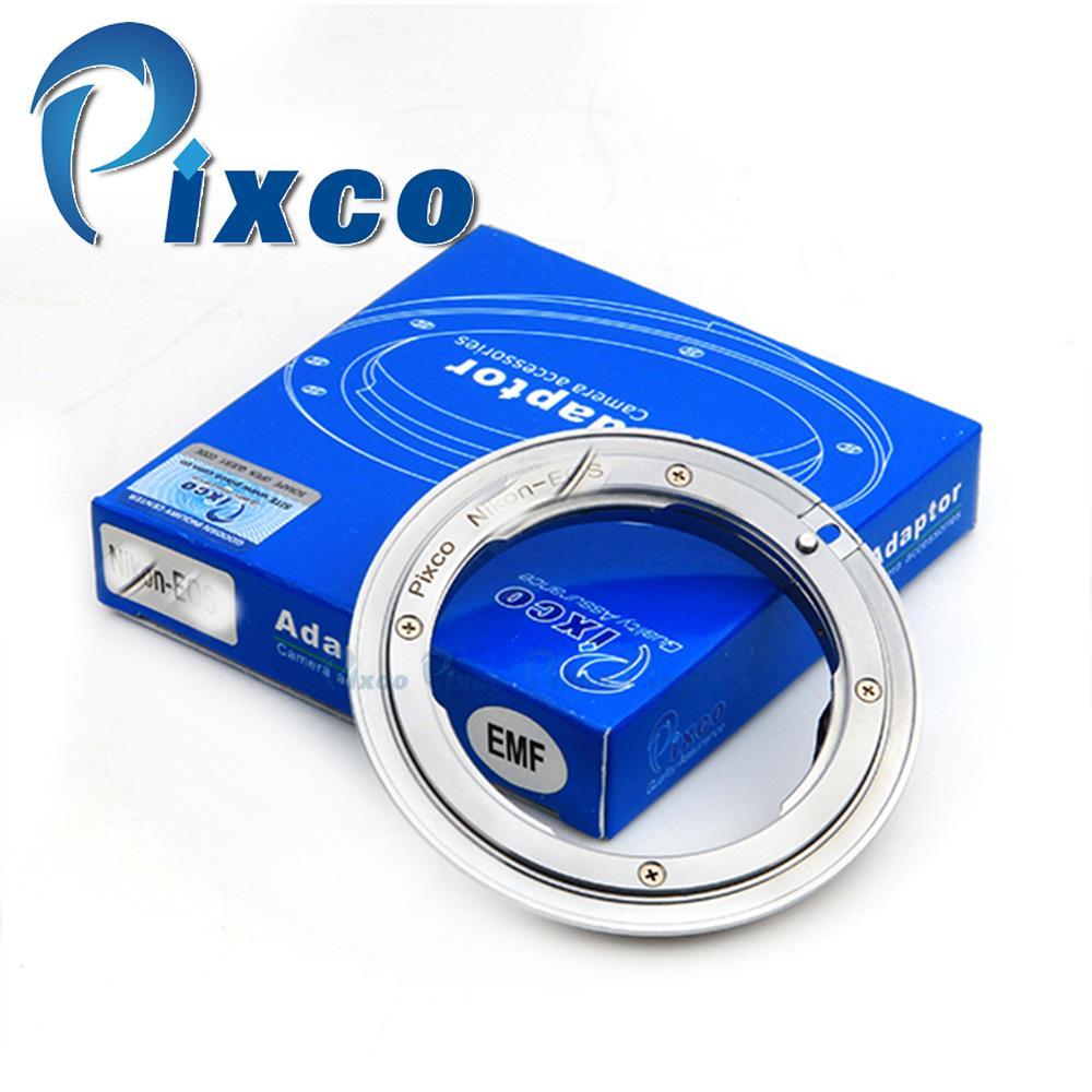 Pixco AF Confirm Non-autofocus Lens Adapter Suit For Nikon Lens to Canon 7D Mark II 5D Mark III 5D Mark II 5D 7D 70D 60D Camera